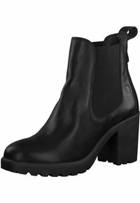 Tamaris - CHELSEA  - High heeled ankle boots - black - 2