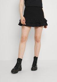 NIKKIE - RIVKA SKIRT - Mini skirt - black - 0