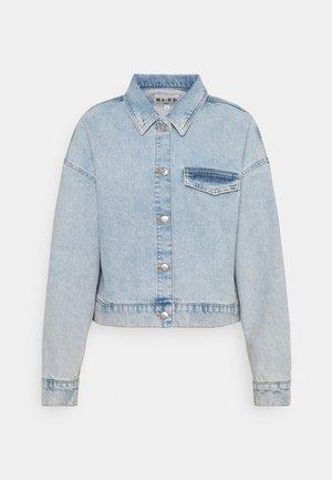 CROPPED JACKET - Denim jacket - light blue