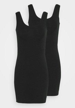2 PACK - Pouzdrové šaty - black