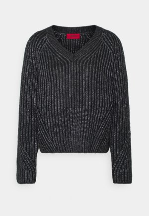 SADELLA - Jumper - black