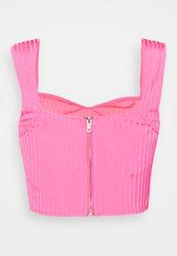 Missguided - SWEETHEART SET - Pouzdrová sukně - pink - 3