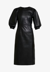 Monki - CHERIE DRESS - Freizeitkleid - black - 5