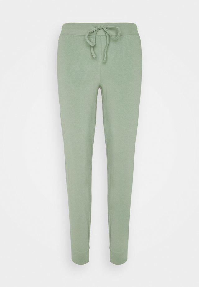 NIGHT TROUSERS ASTRID - Pantalón de pijama - light dusty green