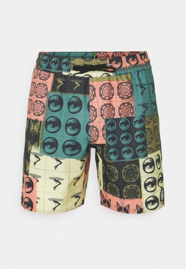 TROPIC BLOTTER TRUNK  - Shorts - multicolor