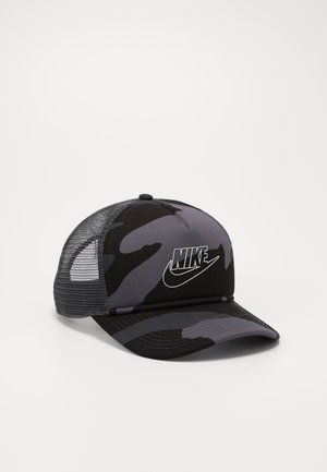 CAMO TRUCKER - Gorra - dark grey