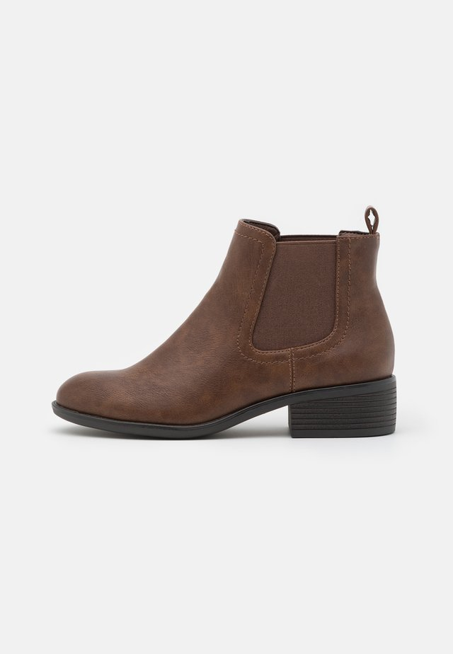 MAPLE CHELSEA - Boots à talons - tan