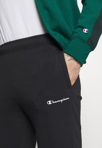 Champion - FULL ZIP SUIT SET - Trainingspak - green/black - 7