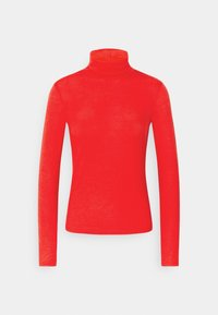 Gina Tricot - GIANNA POLO - Long sleeved top - racing red - 0