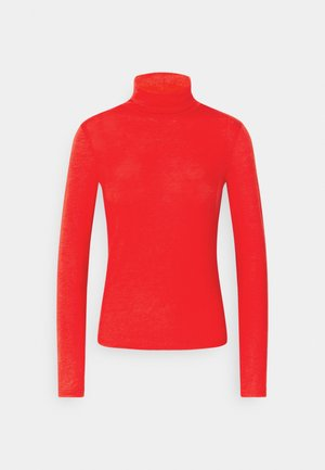 GIANNA POLO - Long sleeved top - racing red
