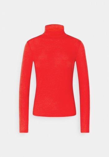 GIANNA POLO - Long sleeved top - racing red