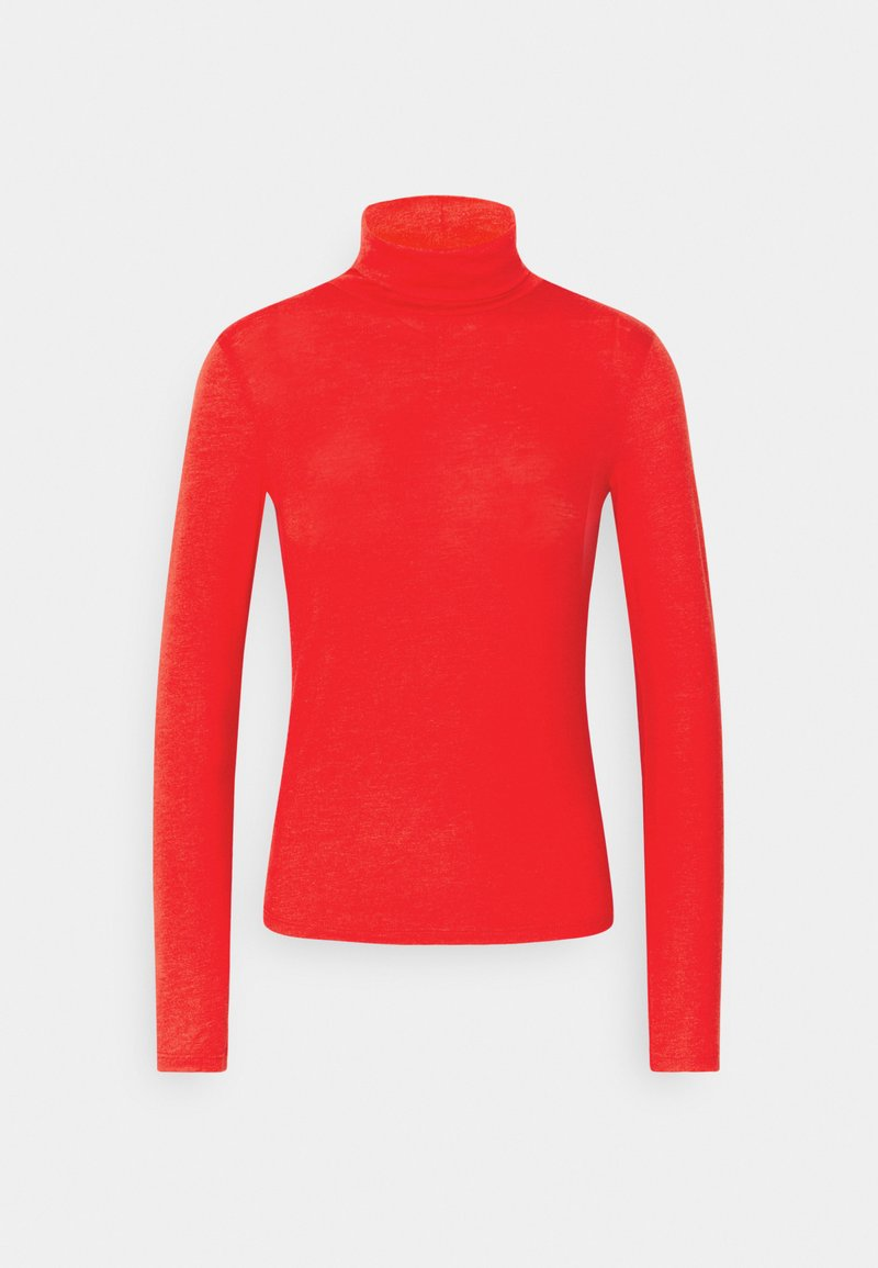 Gina Tricot - GIANNA POLO - Long sleeved top - racing red