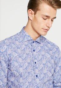 Eterna - SLIM FIT SEAS - Formal shirt - blue - 3
