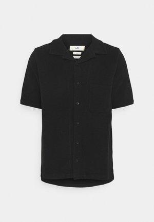 WAFFLE - Shirt - black