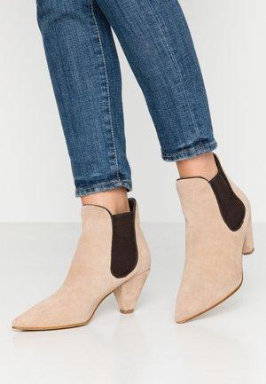ZIBA - Ankle boots - beige