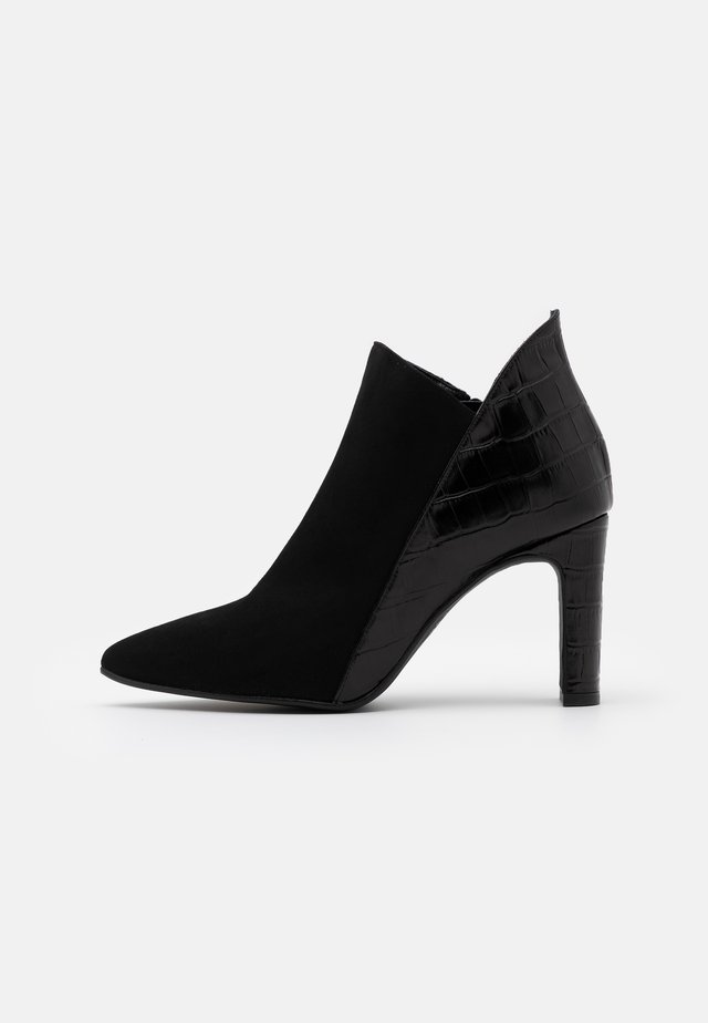 DIANBO - High heeled ankle boots - black