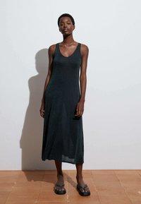 OYSHO - Jumper dress - dark grey - 0