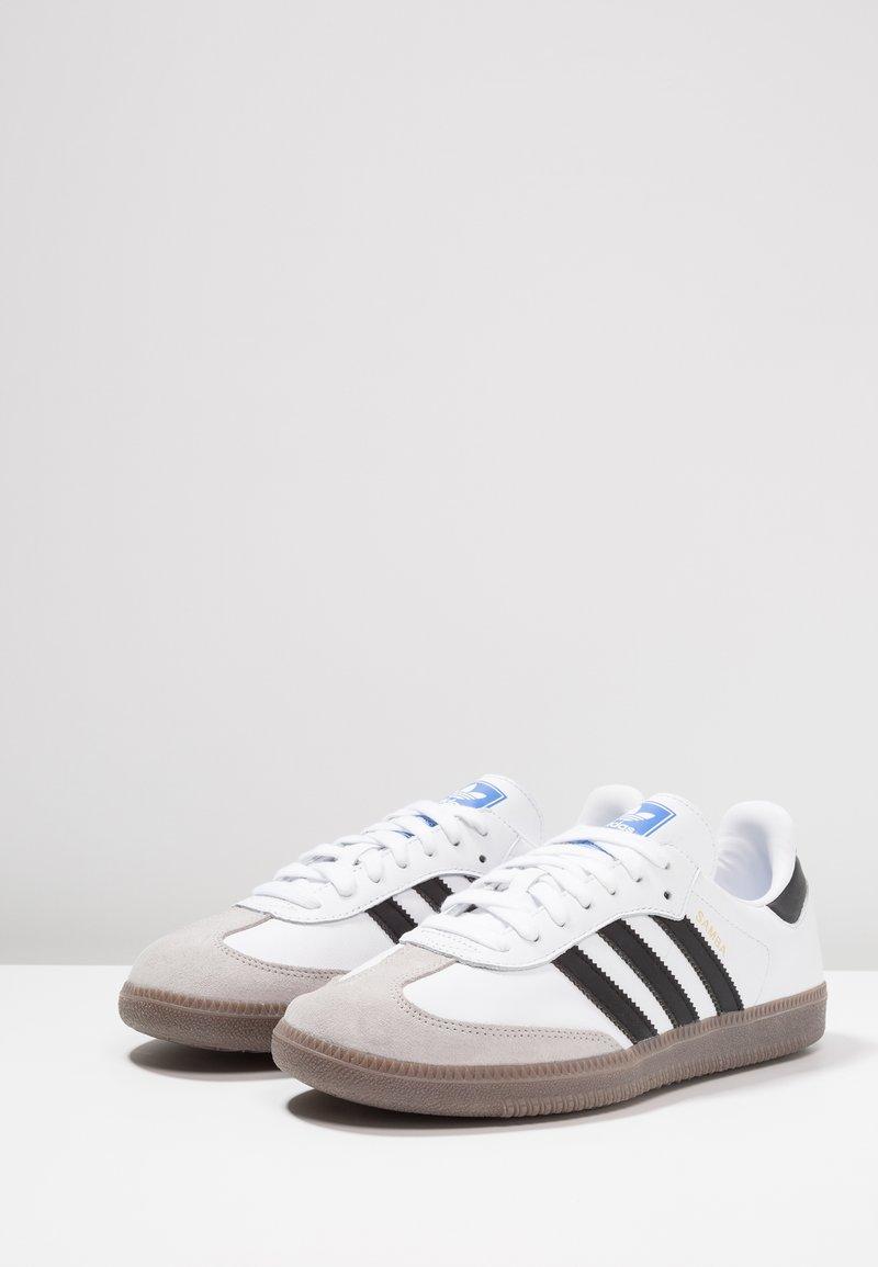 varios colores sensación cómoda super popular adidas Originals SAMBA - Zapatillas - footwear white/core black/granit -  Zalando.es