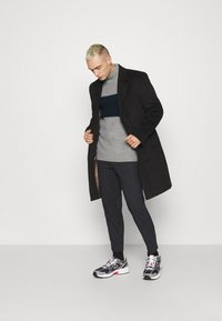 Brave Soul - REINOLD - Jumper - silver grey marl/ french navy - 1