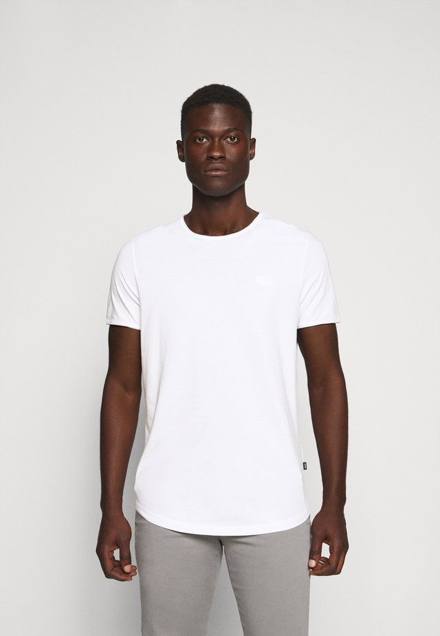 CLIFF - Basic T-shirt - white