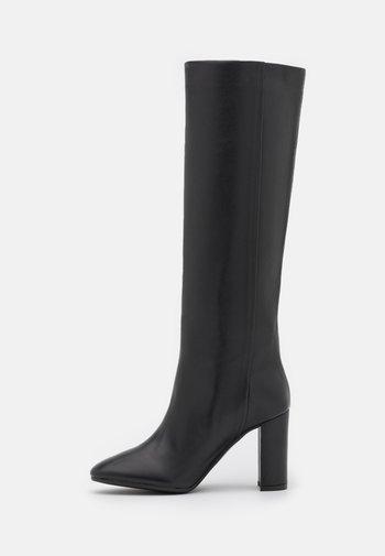 Boots med høye hæler - nero