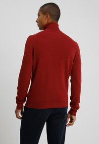 Benetton - BASIC ROLL NECK - Pullover - bordeaux - 2