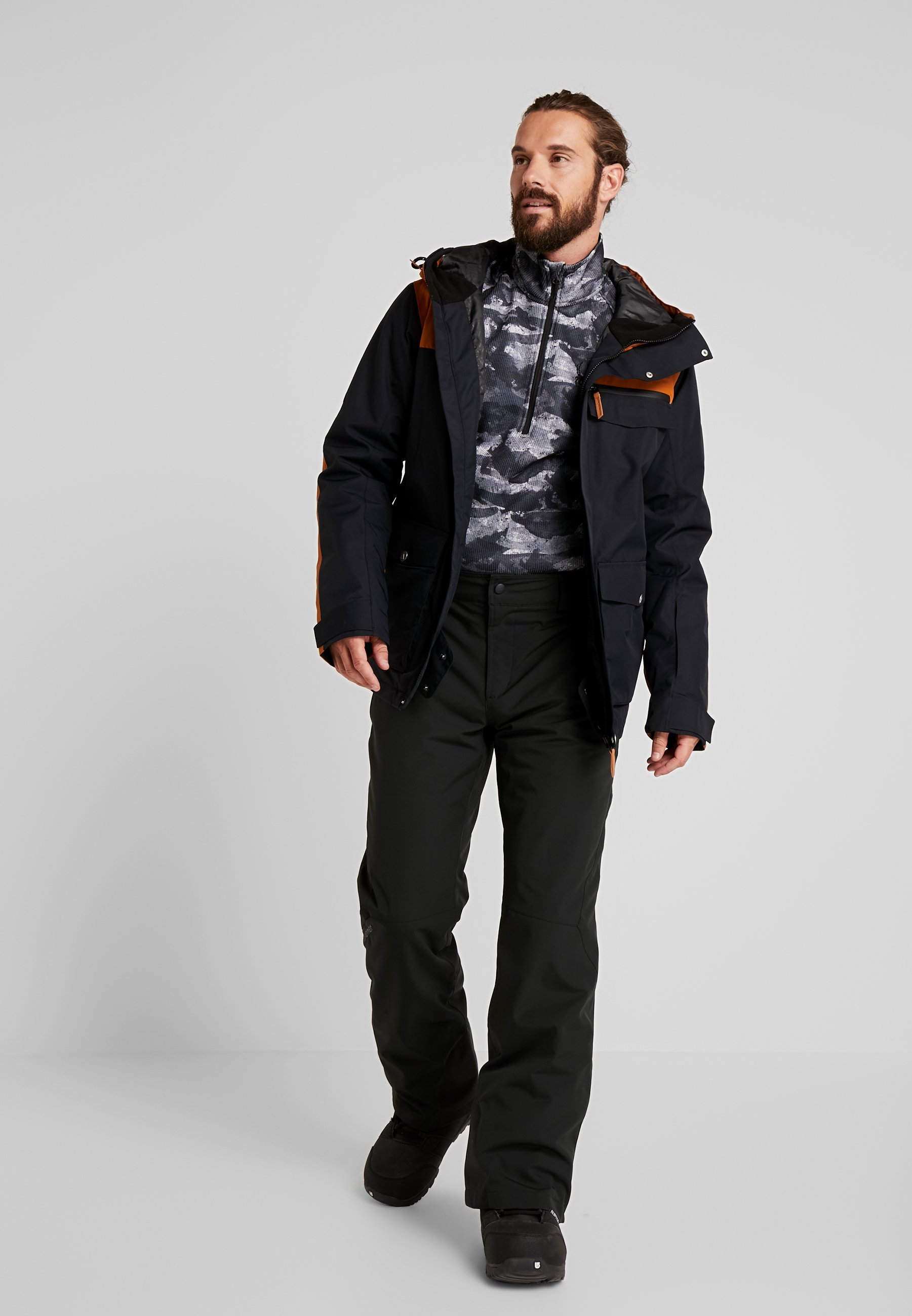 Wearcolour ROAM JACKET - Snowboard jacket - black