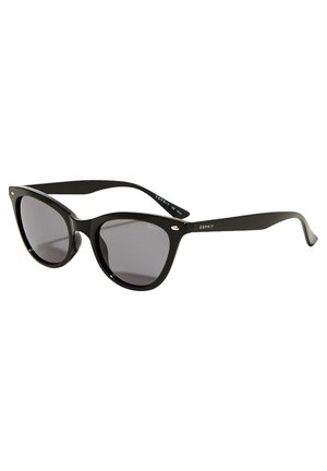 SONNENBRILLE MIT SCHMALER CAT EYE-FORM - Zonnebril - black