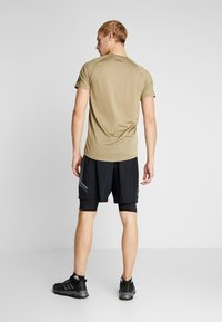 Under Armour - PROJECT ROCK SHORTS - Punčochy - black/pitch gray - 2