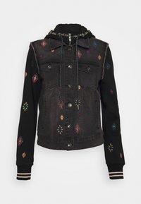 Desigual - CHAQ LIVERPOO - Denim jacket - blue - 7