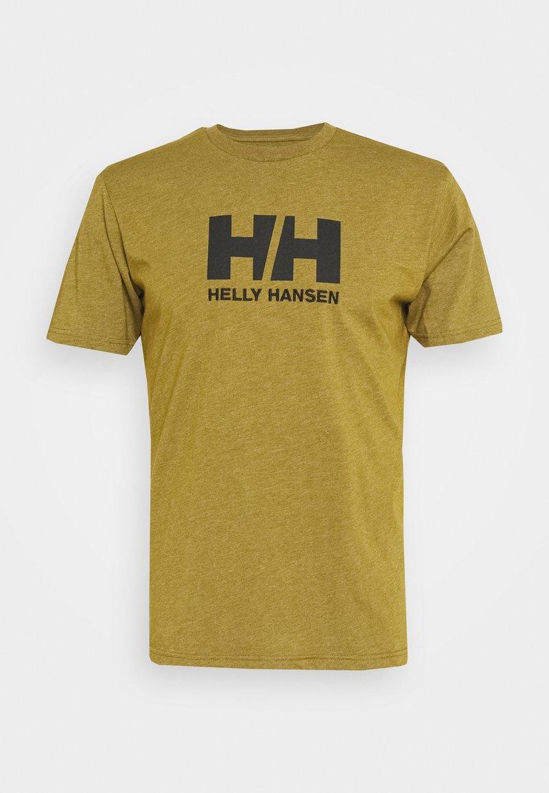 Helly Hansen - LOGO - Print T-shirt - uniform green melange