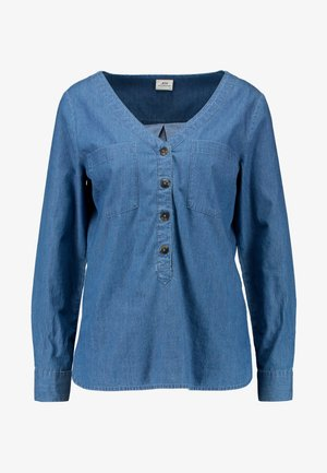 JDYEVE - Blouse - dark blue denim