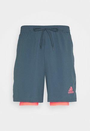 SHORT - Pantalón corto de deporte - legblu/sigpink