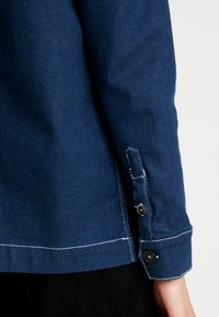 Tomorrow - LINCOLN JACKET RAW - Farkkutakki - denim blue - 5
