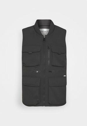 W' COLEWOOD VEST - Waistcoat - black