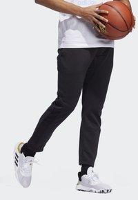 adidas Performance - CROSS-UP 365 TRACKSUIT BOTTOMS - Tracksuit bottoms - black - 4