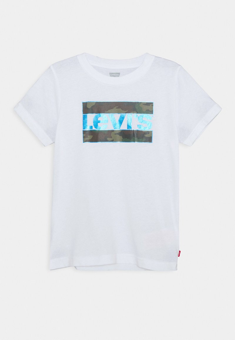 Levi's® - GRAPHIC TEE UNISEX - T-shirt z nadrukiem - white