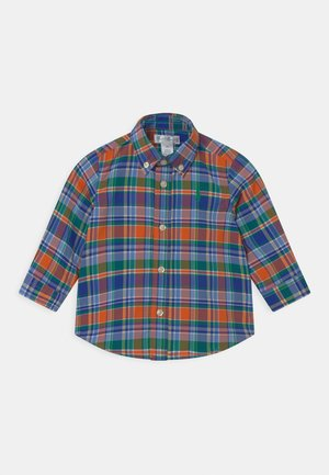 Shirt - orange/navy