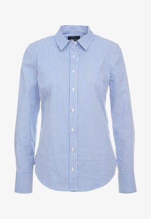 STRETCH PERFECT CLASSIC SLIM FIT - Button-down blouse - banker blue