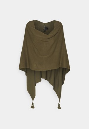 ACCESSORIES - Ponczo - khaki