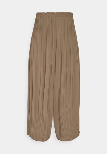 SOLID PANTS - Trousers - tobacco