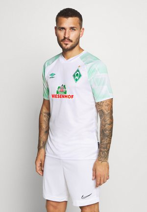 WERDER BREMEN AWAY - Club wear - brilliant white/ice green