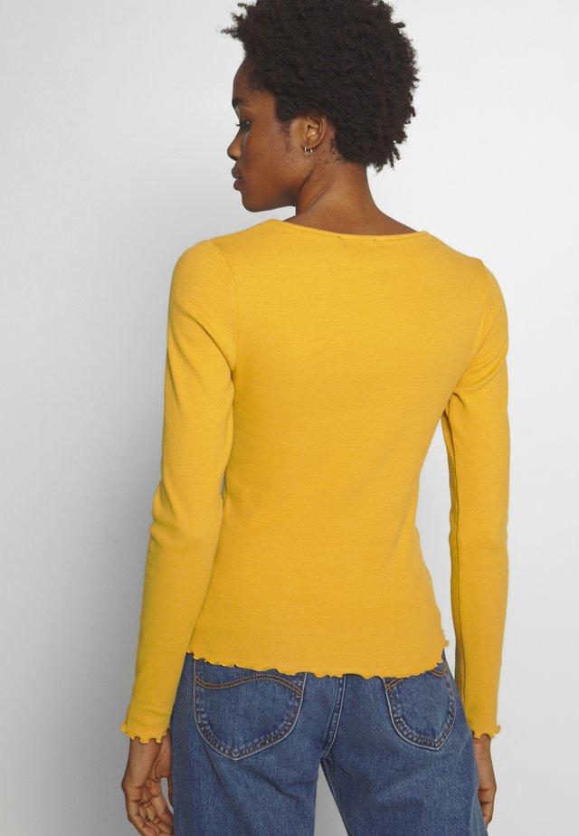 BABYLOCK - Top sdlouhým rukávem - dark yellow