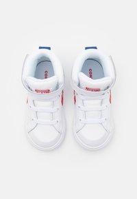 Converse - PRO BLAZE STRAP VARSITY UNISEX - Zapatillas altas - white/university red/blue - 3