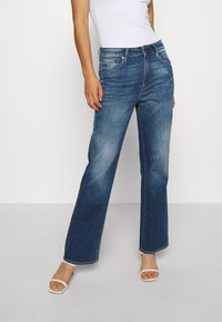 G-Star - CODAM HIGH KICK FLARE 7\8 WMN - Flared Jeans - faded cobalt - 0