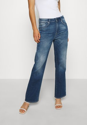 CODAM HIGH KICK FLARE 7\8 WMN - Flared Jeans - faded cobalt