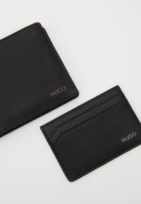 HUGO - SET - Monedero - black - 2