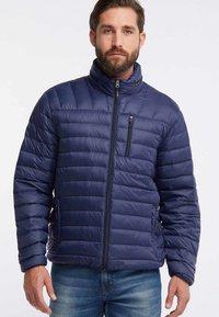 HAWKE&CO - Down jacket - dark blue - 0