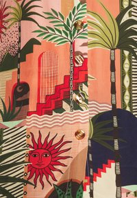 Farm Rio - MYSTIC CITY PAJAMA SHIRT - Button-down blouse - multi - 5