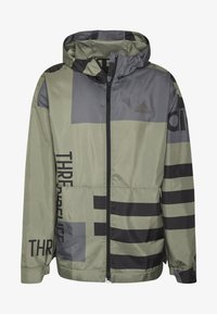 adidas Performance - URBAN ALLOVER PRINT WIND.RDY  - Outdoor jacket - green - 5